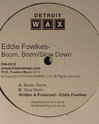 Eddie Fowlkes - Boom Boom