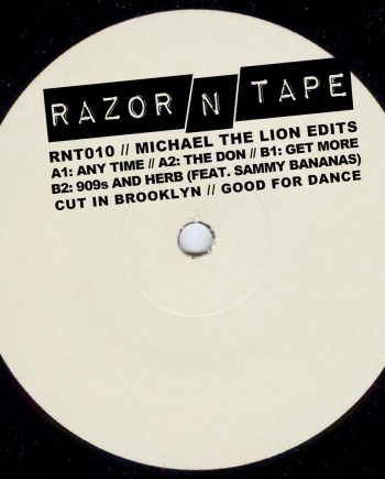 Michael The Lion - Michael The Lion Edits 12""