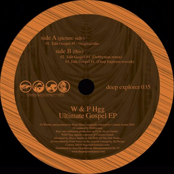 W&P HGG - Ultimate Gospel EP 12""