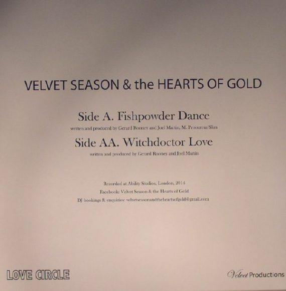 Velvet Season & The Hearts Of Gold – Fishpowder Dance - disco de vinilo