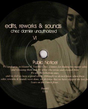 Boot - Edits Reworks & Sounds vinyl
