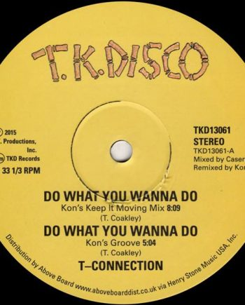 T Connection / jimmy McGriffin - Do What You Wanna Do