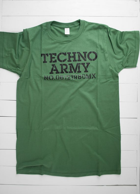 Playera - Techno Army color verde