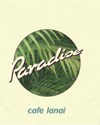 Cafe Lanai - Paradise DISCO DE VINYL
