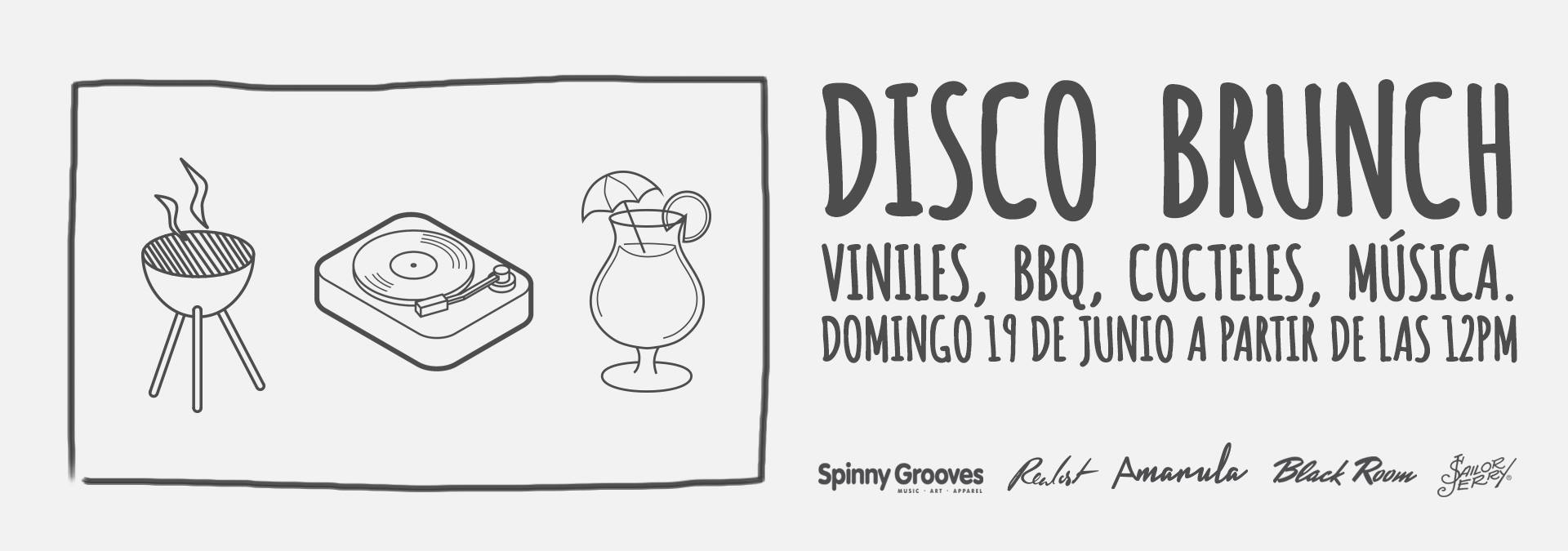 Disco Brunch - mercado de discos de vinilo en cancun