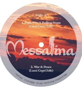 Lucci Capri / Andy Kidd - Messalina Volume 11 vinyl