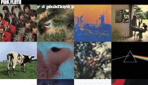La discografía completa de Pink Floyd en vinilo!