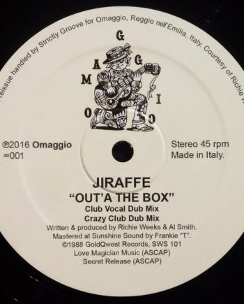Jiraffe – Out'A The Box vinyl