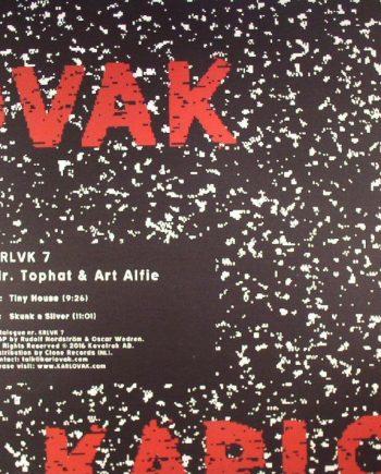 Mr. Tophat & Art Alfie – KRLVK 7 vinyl