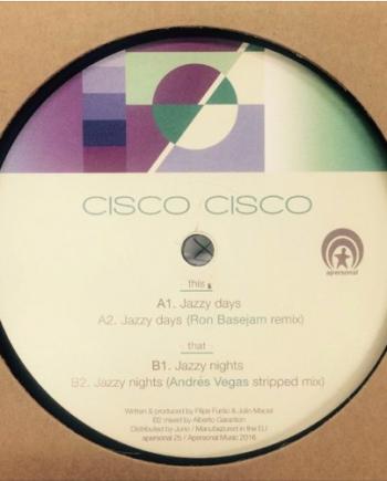 Cisco Cisco – Jazzy Days / Jazzy Nights disco de vinilo house