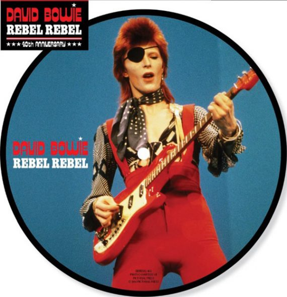 David Bowie - Rebel Rebel disco de vinilo - Black Room