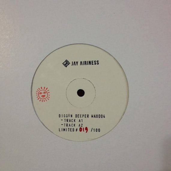 Jay Airiness - Diggin Deeper Wax 004 disco de vinilo