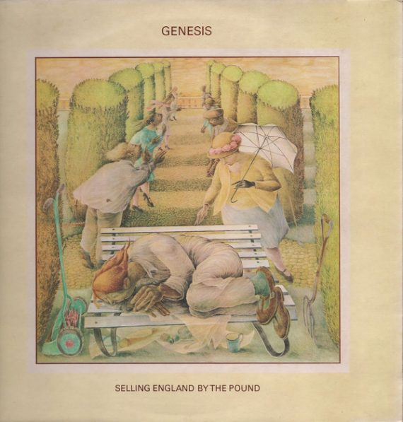 Genesis - Selling England By The Pound disco de vinilo