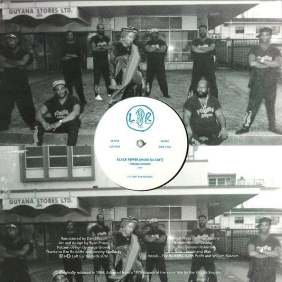 Yoruba Singers - Black Pepper disco de vinilo