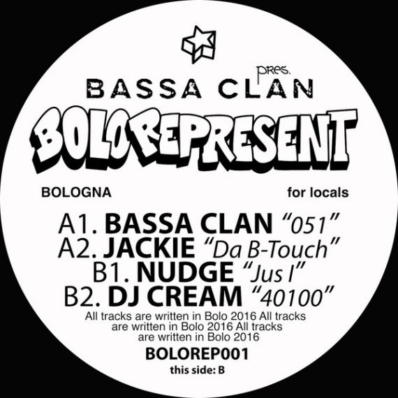 Bolo Represent 001 vinyl