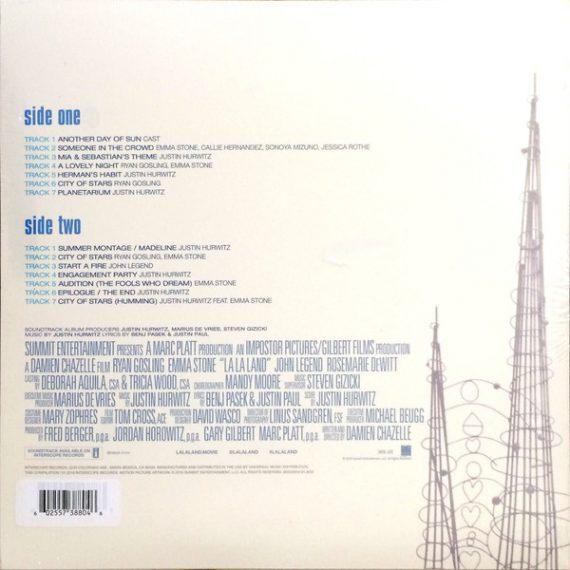 La la land (Soundtrack) vinilo