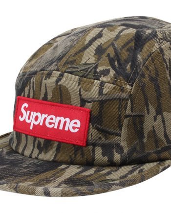 Supreme Military Camp Cap (FW18) Mossy Oak Camo - Mexico - black Room