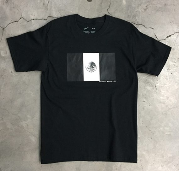 Playera Sacrifice Mexico Streetwear - Black Room