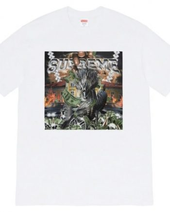 Playera Supreme Dragon - Black Room