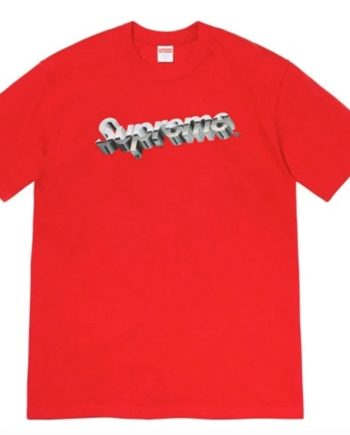 Playera Supreme Chrome Logo
