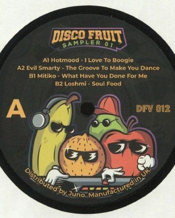 Disco Fruit Sampler 01 vinyl