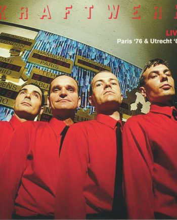 KRAFTWERK - Live: Paris 76 & Utrecht 81 vinilo