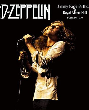 Led Zeppelin - Jimmy Page Birthday At Royal Albert Hall 1970